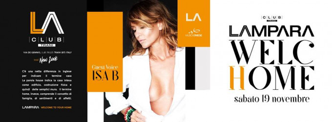 Sab 19.11 WELChOME Lampara [official]