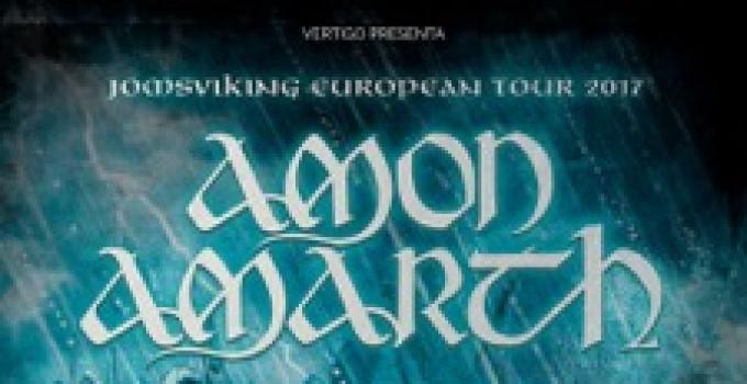 AMON AMARTH: altro tour, altra data italiana!