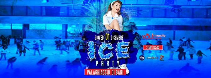 Giovedì 01 Dic YOUniversity ICE Party Pattinaggio più Disco