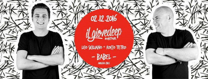 il Giovedeep on tour
