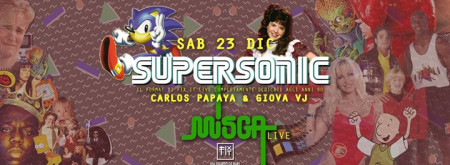 Supersonic | 90's music - Misga LIVE