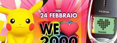 We Love 2000 • BARI • Demodè Club