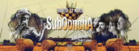 Subooncha - Subsonica Tribute Band
