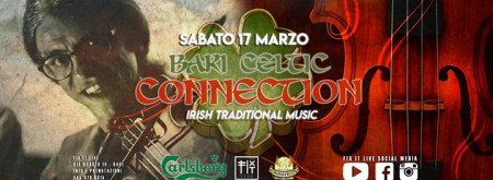 St Patrick's Day - Bari Celtic Connection Live