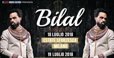 BILAL: torna in Italia per due date estive!