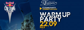"""WARM UP CLIFF Diving Party"" Closing Trappeto Summer"