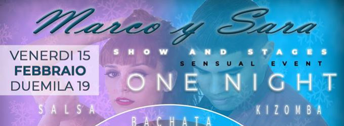 Marco y Sara - Stages and Show - Bari